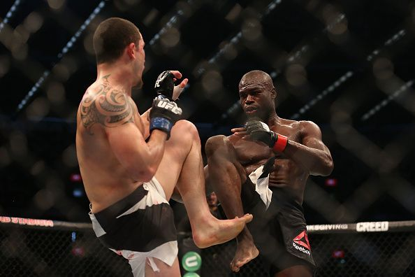 Uriah Hall was caught off guard by what Whittaker brought to the table