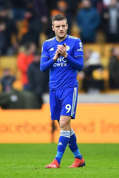 Vardy has a very good strike rate against the big clubs