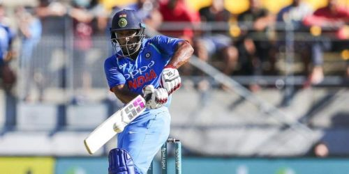 Ambati Rayudu played scored 90 runs to help India post a respectable total.