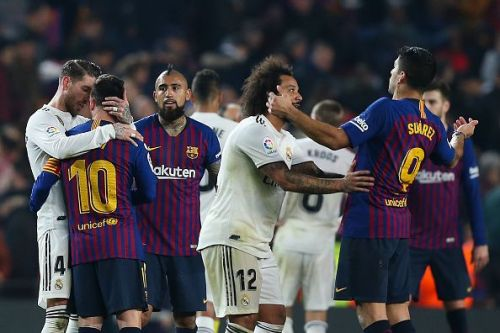 It's a week which will see back to back El Clasicos