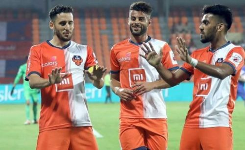 FC Goa are now on third in the League Standings. (Image Courtesy: ISL)