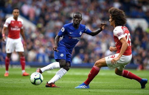 N'golo Kante is currently Chelsea's dynamo midfielder.