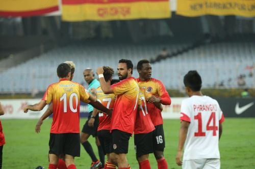 East Bengal produced a dominating performance throughout the match