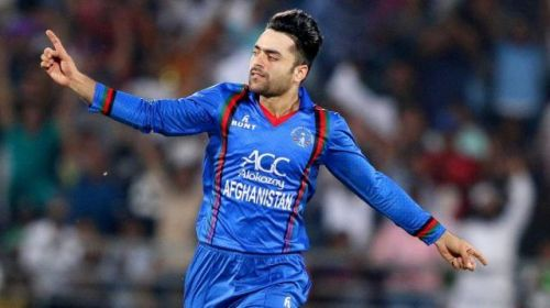 Rashid Khan became the 7th bowler to pick up a hat-trick in T20Is