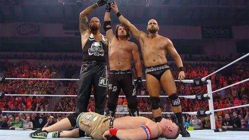 AJ Styles and The Good Brothers attacked John Cena