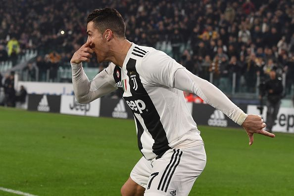 Ronaldo is in great form at Juve