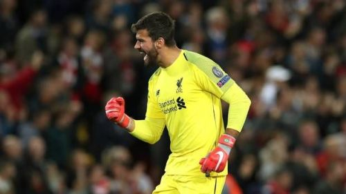 Alisson has had a great impact between the sticks