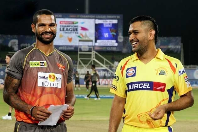 Dhawan And Dhoni