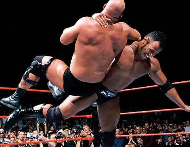 The WrestleMania 17 encounter!