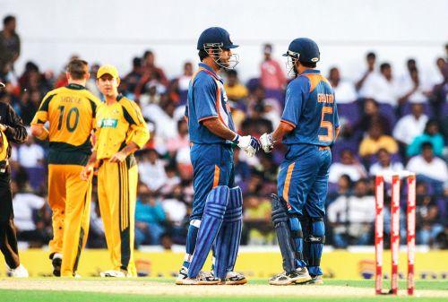 India vs Australia in the 2009 ODI series.