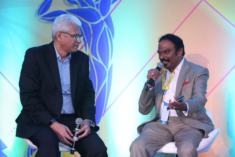 Joy Bhattacharjya (Left)