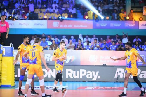 Chennai Spartans secured their semifinal spot with this win