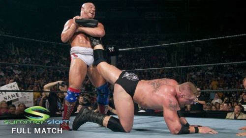 Ankle lock submission on Brock Lesnar