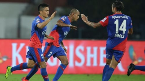 Bengaluru FC will be looking to heap more misery on Chennaiyin FC (Image Courtesy: ISL)
