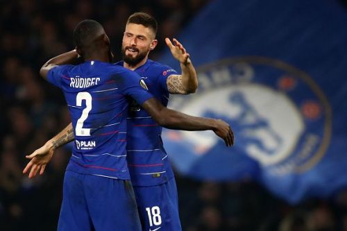 Chelsea progressed to the round-of-16 with a 5-1 aggregate