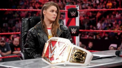 Image result for wwe ronda rousey raw women's champion