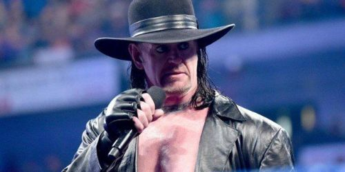 The Undertaker could be done in a WWE ring