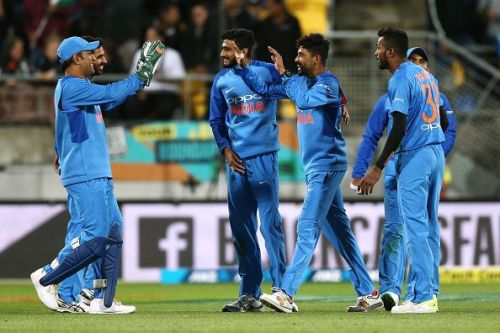 New Zealand v India - International T20 Game 1