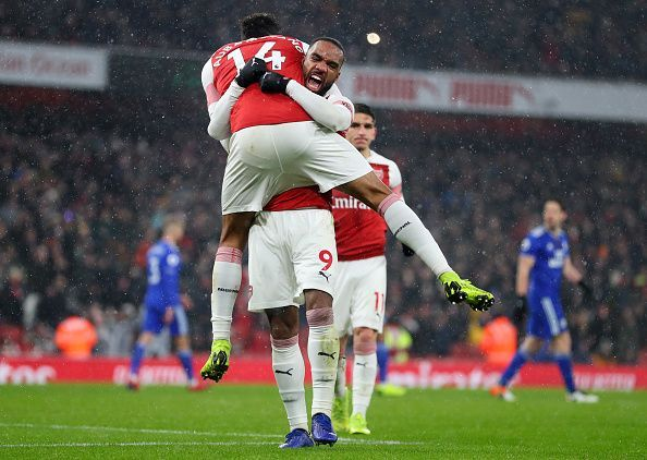 Lacazette and Aubameyang have sparkled together this season
