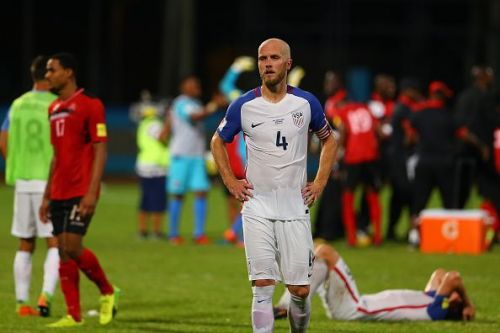 Trinidad & Tobago's surprise 2-1 win over the United States in October 2017 saw them fail to qualify