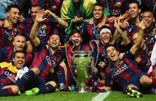 2015 UEFA Champions League Champions - FC Barcelona