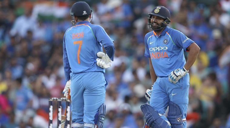 Rohit Sharma And Dhoni