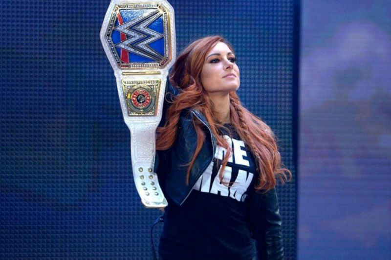 Becky Lynch has all of the crowd