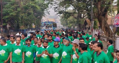 More than 150 people participated