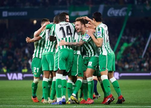 Real Betis have impressed at controlling possession this season