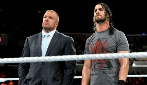 Rollins and HHH