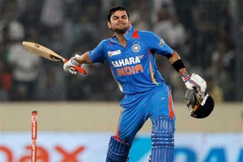 Virat Kohli en route to his 183 vs Pakistan Asia Cup 2012