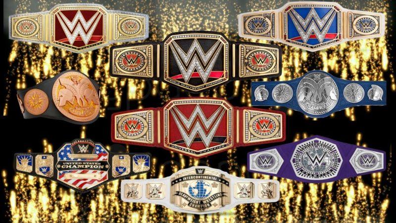 Resultado de imagem para WWE titles