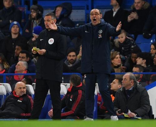 Chelsea's have lost three out of their last five games