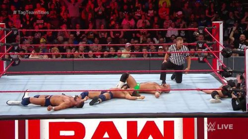 The final match of Monday Night Raw had the WWE Universe on the edge of their seats
