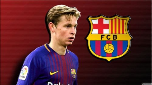 De Jong will move to Barcelona in the summer.