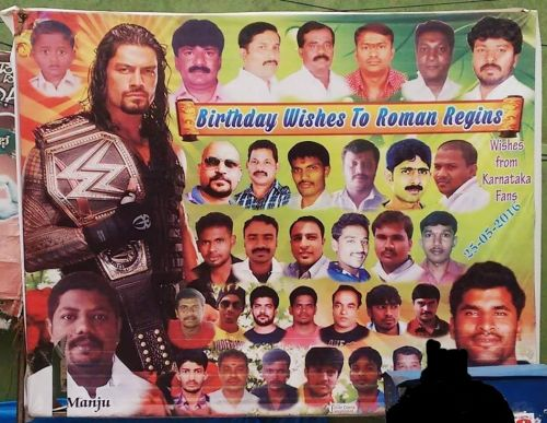 An example of how popular Reigns is among the Indian fans