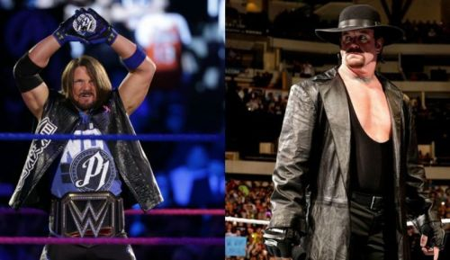 Could AJ Styles force The Undertaker to finally Rest in Peace?
