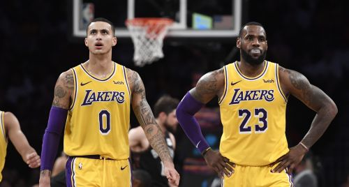 Things are not going according to plan for the Lakers