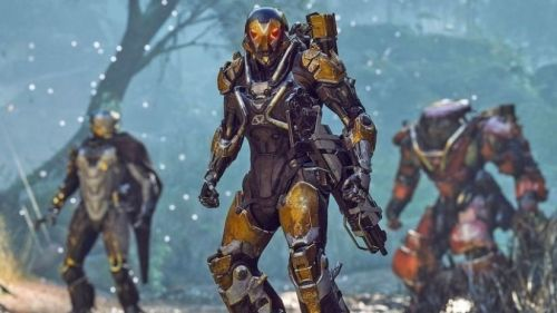 You play the role of a freelancer in Anthem