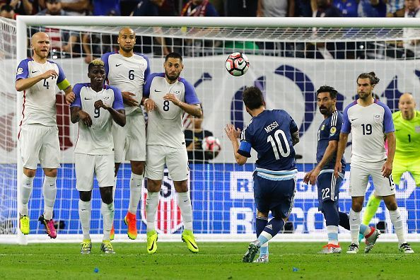 The United States Men National Team got destroyed by Messi