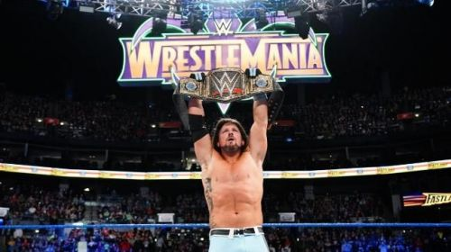 AJ Styles successfully defended his WWE title against five others at Fastlane 2018