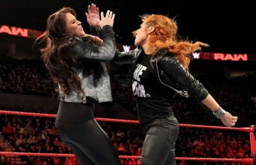 Lynch collided with Stephanie McMahon on last week's RAW, and could do again this year.