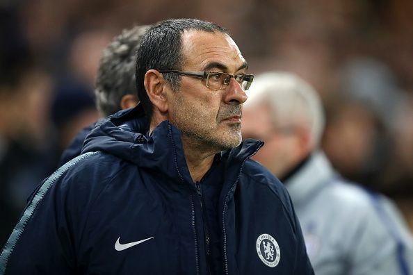 Sarri finds himself in troubled waters, as some players at Chelsea are under-performing