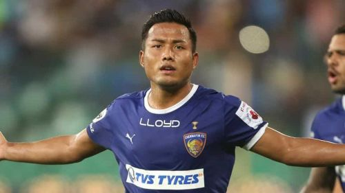 Jeje Lalpekhlua has had a disappointing season for Chennaiyin FC, scoring just one goal