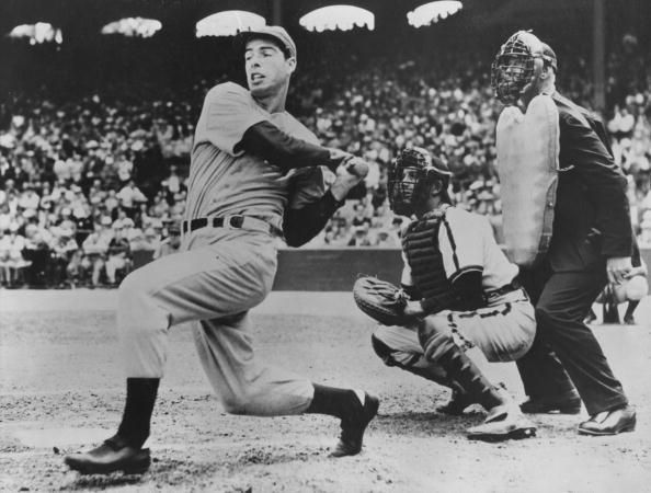 Joe DiMaggio is a complete baseball legend