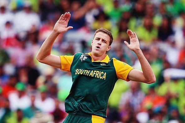 Morne Morkel during South Africa v Pakistan - 2015 ICC Cricket World Cup