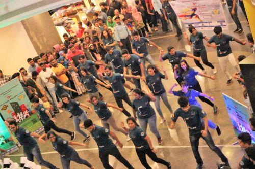 Flashmob at Hi-Lite