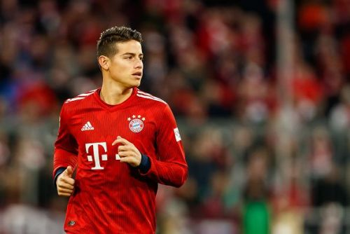 James Rodriguez is currently in the last quarter of his loan deal at Bayern Munich from Real Madrid