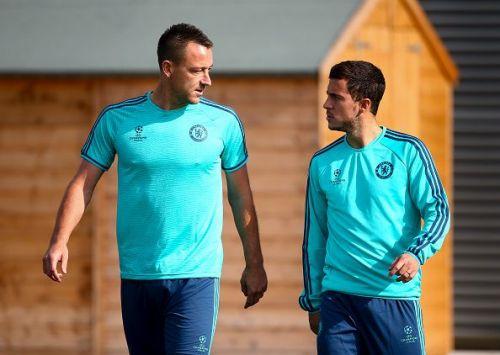John Terry hopes to see Eden Hazard at the Stamford Bridge next season