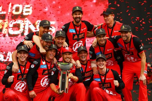 'Melbourne Renegades' Won their First BBL Title